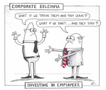 Why train sales people cartoon